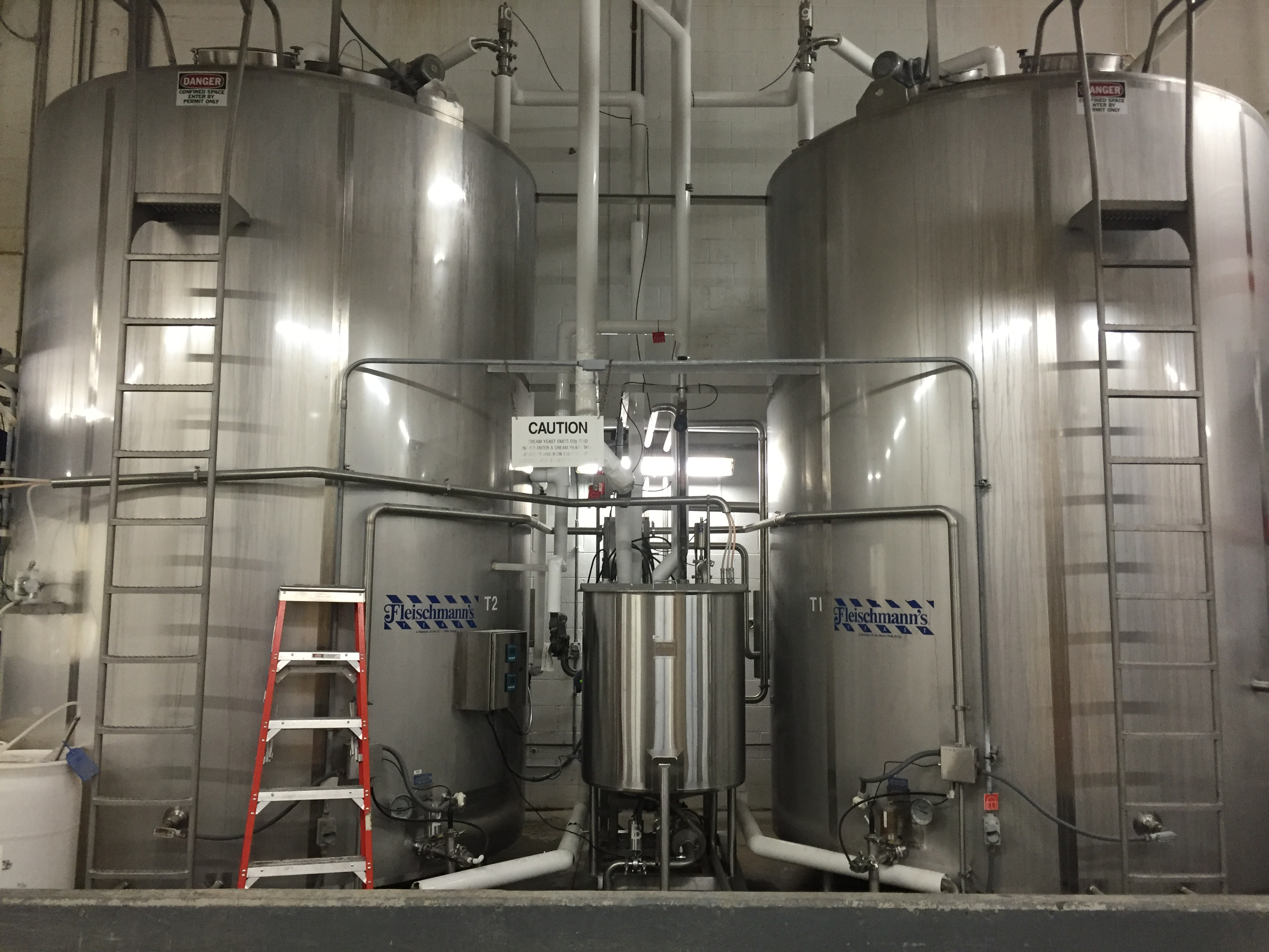 Yeast Systems Tanks